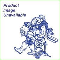Skipper Fold Down Seat with Blue/White Cushion